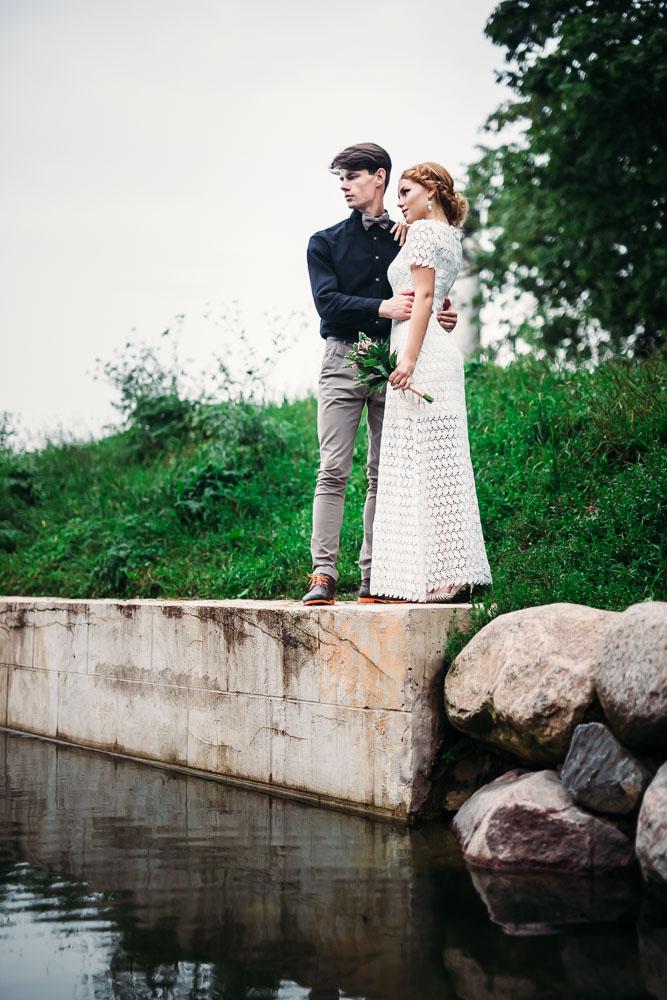 Свадебная фотосессия в Кусково (фото)