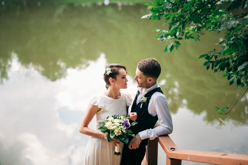 Свадебная прогулка по ВДНХ (фото)