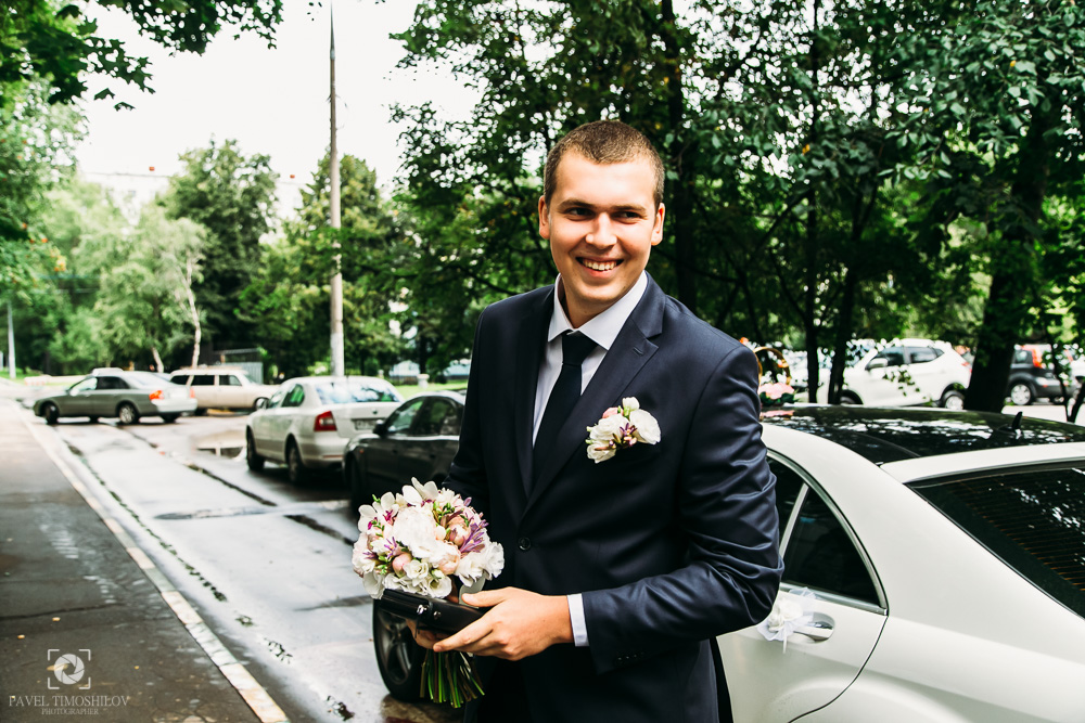 Свадебная фотосессия в парке (фото)