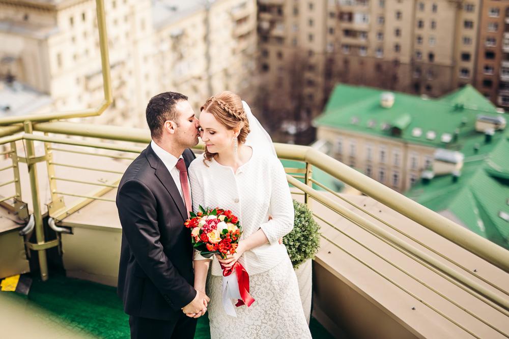 Свадебная фотосессия в отеле Golden Ring Hotel Moscow (фото)