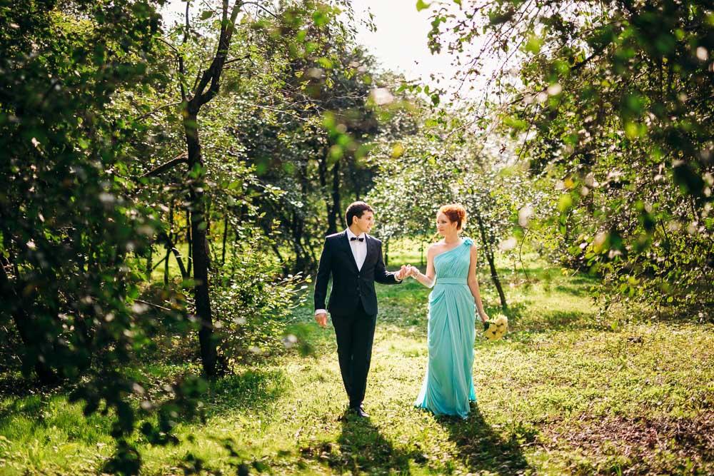 Свадебная прогулка в Коломенском (фото)