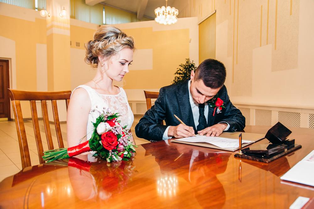 Свадебная фотосессия Дмитрия и Марии 17 сентября 2016 года (фото)
