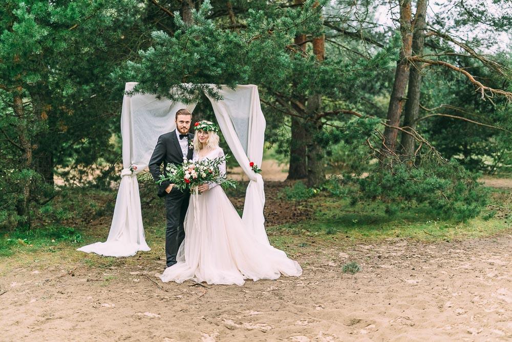 Свадебная фотосессия в Серебряном Бору (фото)