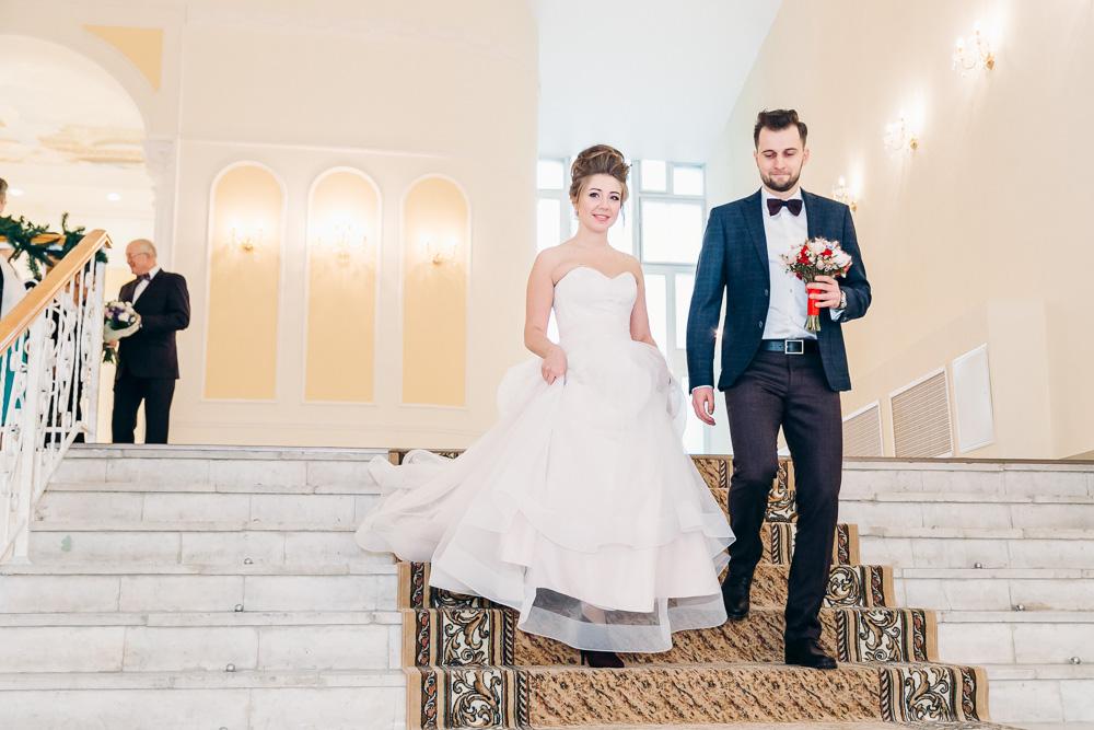 Свадебная фотосессия в канун Нового Года (фото)