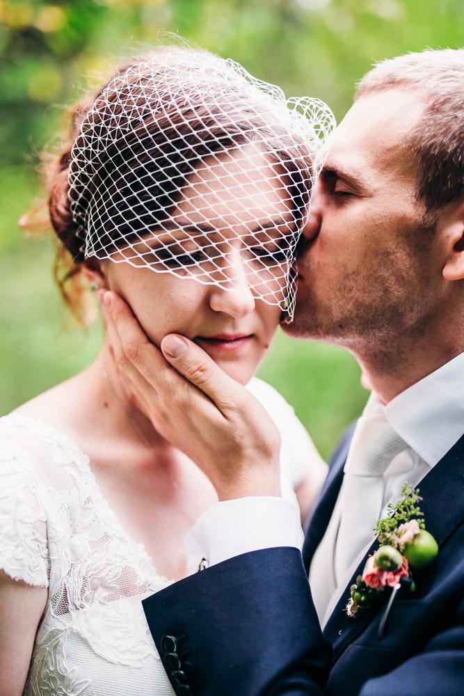 Свадебная фотосессия за городом (фото)