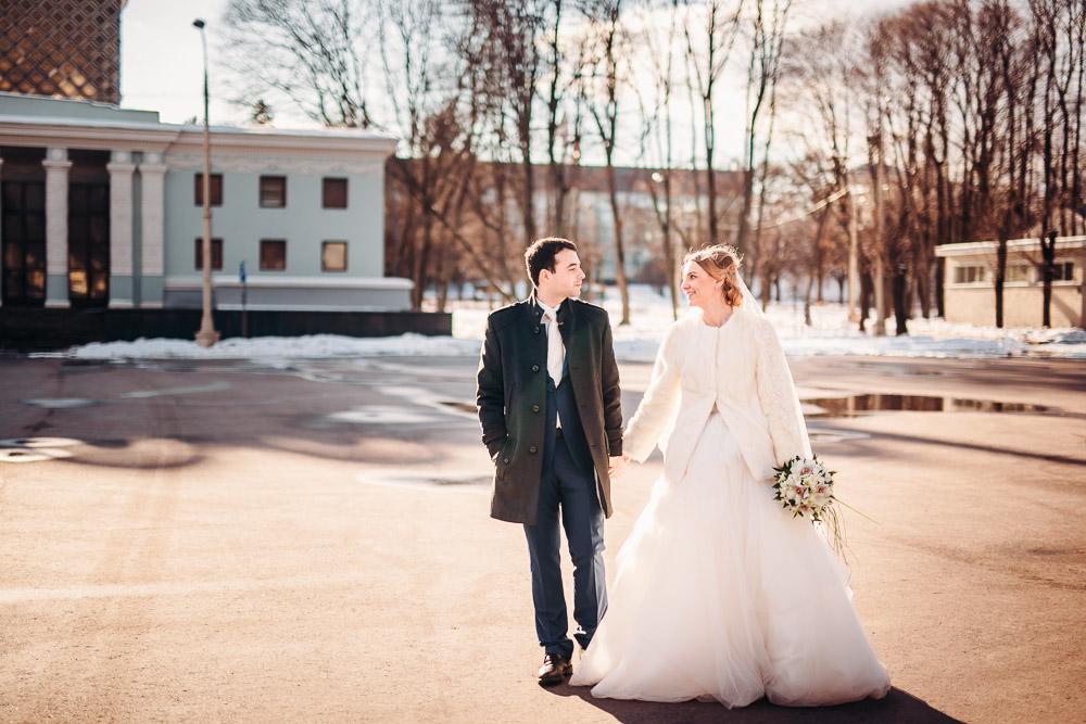 Свадебная фотосессия на ВДНХ (фото)