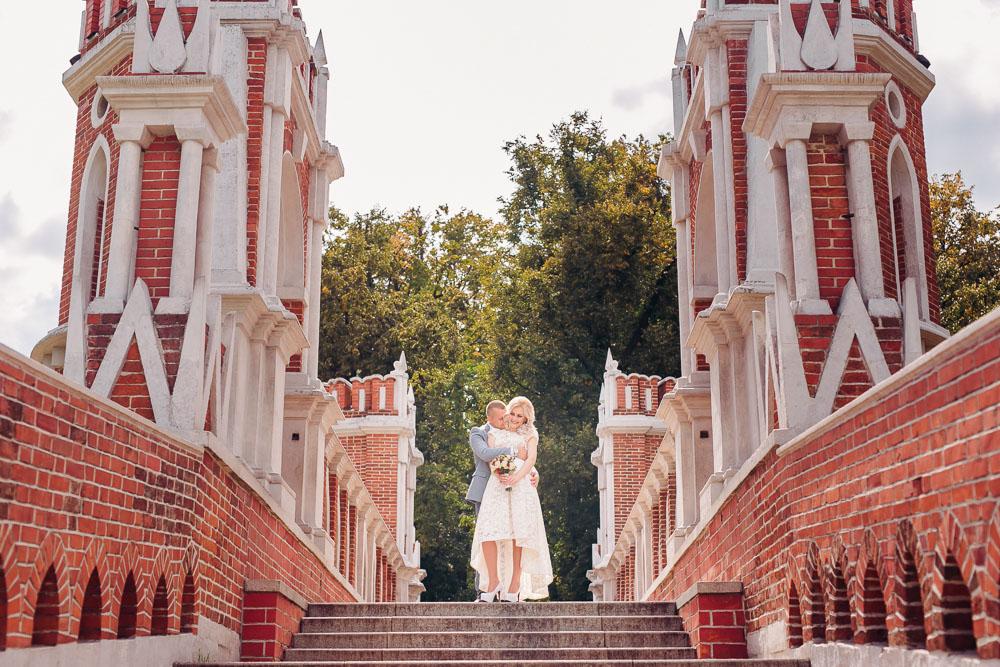 Свадебная фотосессия в Царицыно (фото)