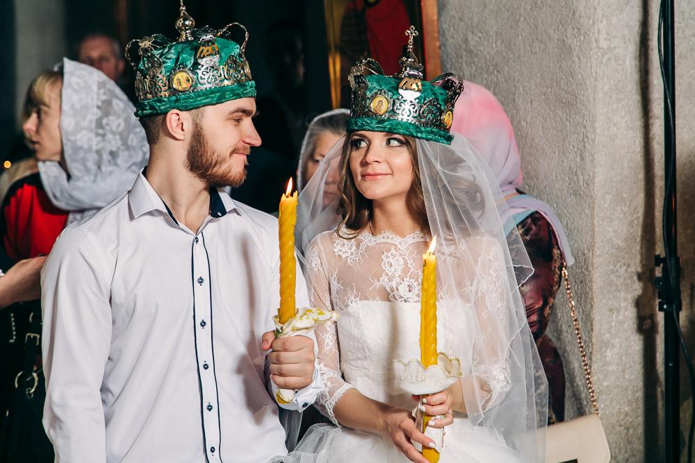 Венчание в Храме Благовещения  Пресвятой Богородицы в Тайнинском (фото)