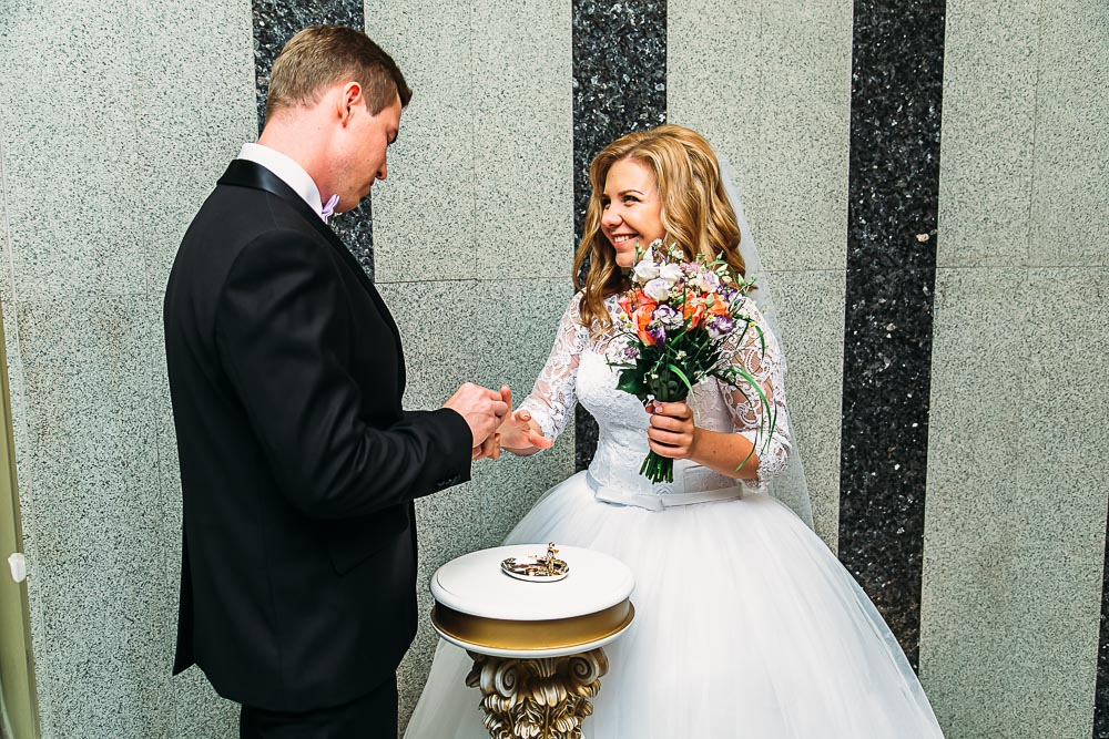Свадебная прогулка в Мытищинском парке (фото)