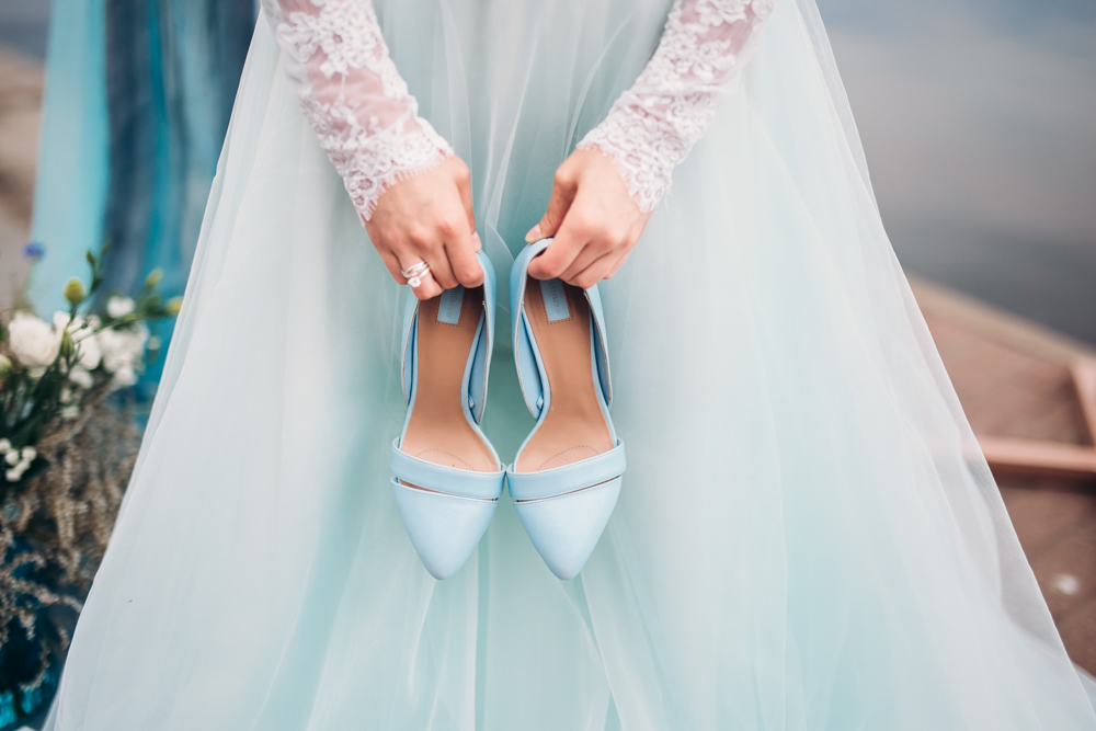 Свадебная фотосессия в морском стиле (фото)