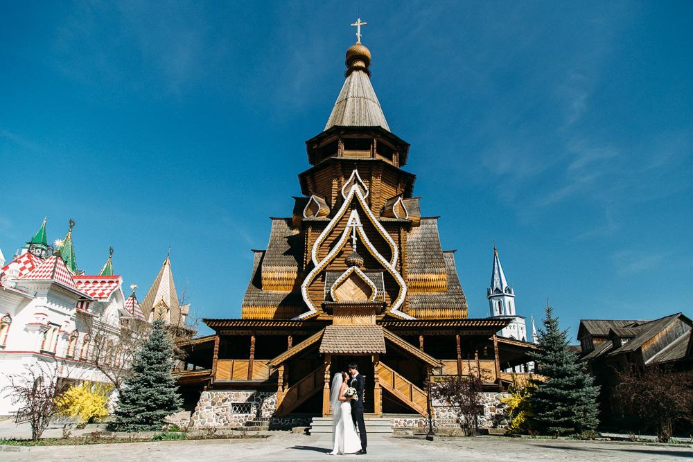 Свадьба в Измайловском кремле (фото)