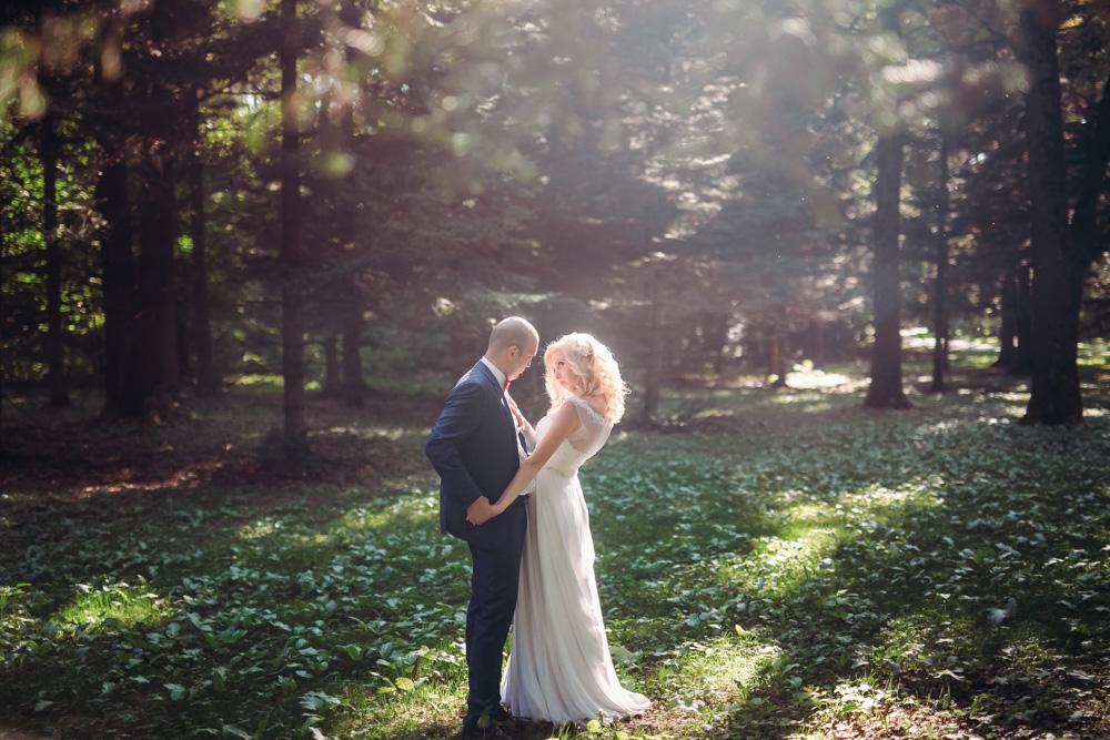Свадебная фотосессия в Ботаническом саду (фото)